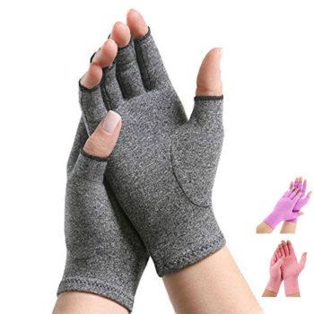reuma handschoenen grijs