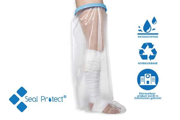 Douchehoes waterafstotend en herbruikbaar